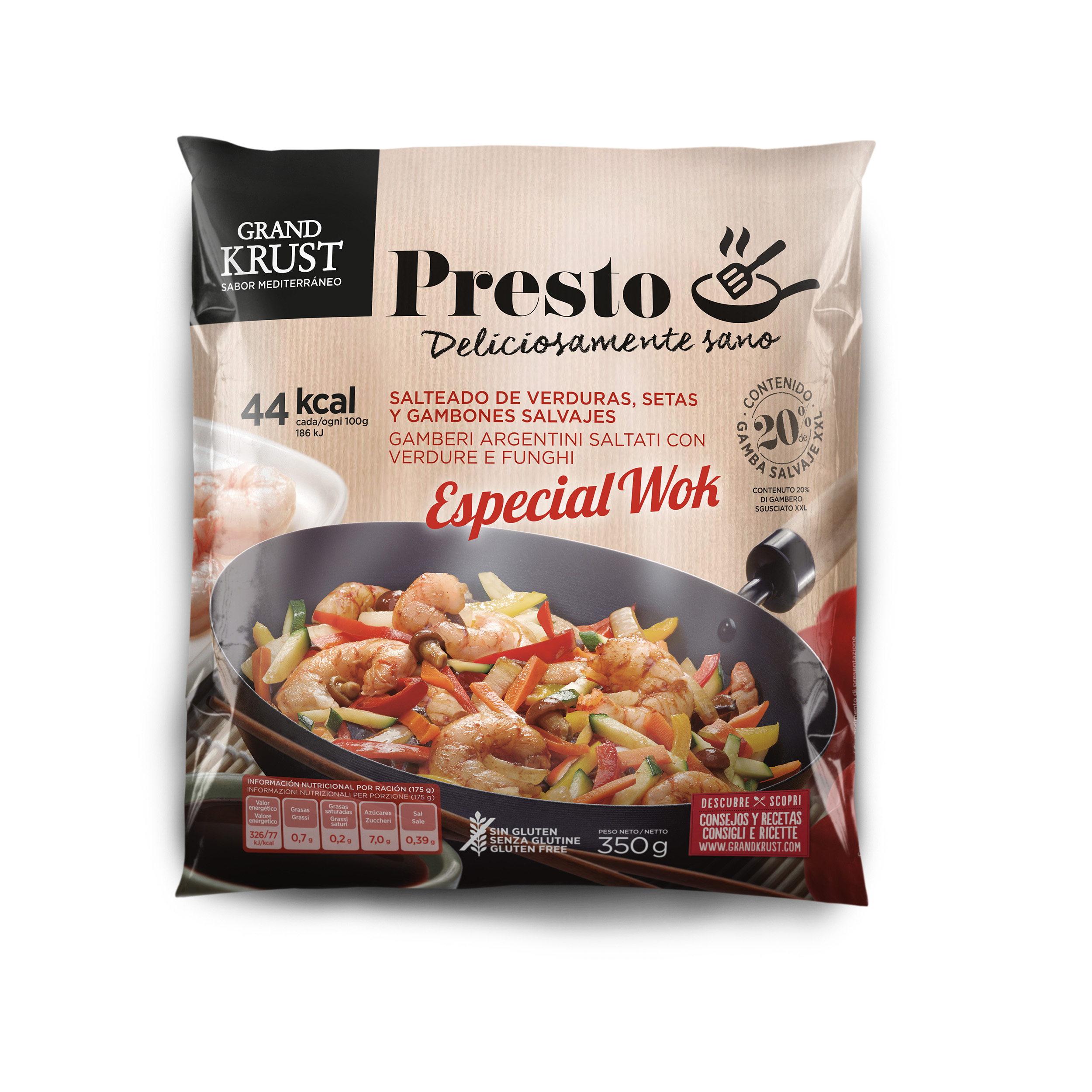 Grand Krust Presto shrimp wok Image