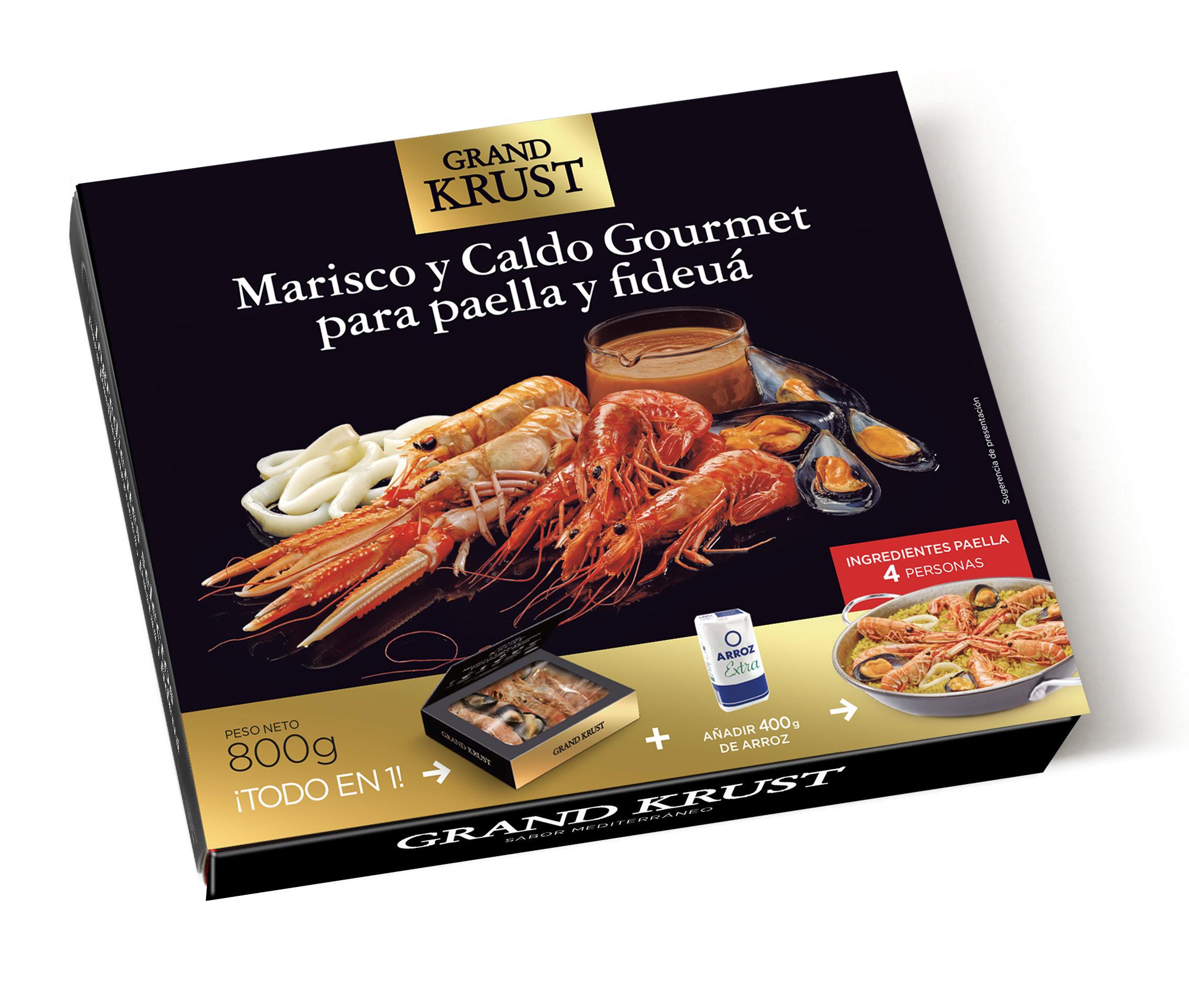 Grand Krust premium paella mix Image