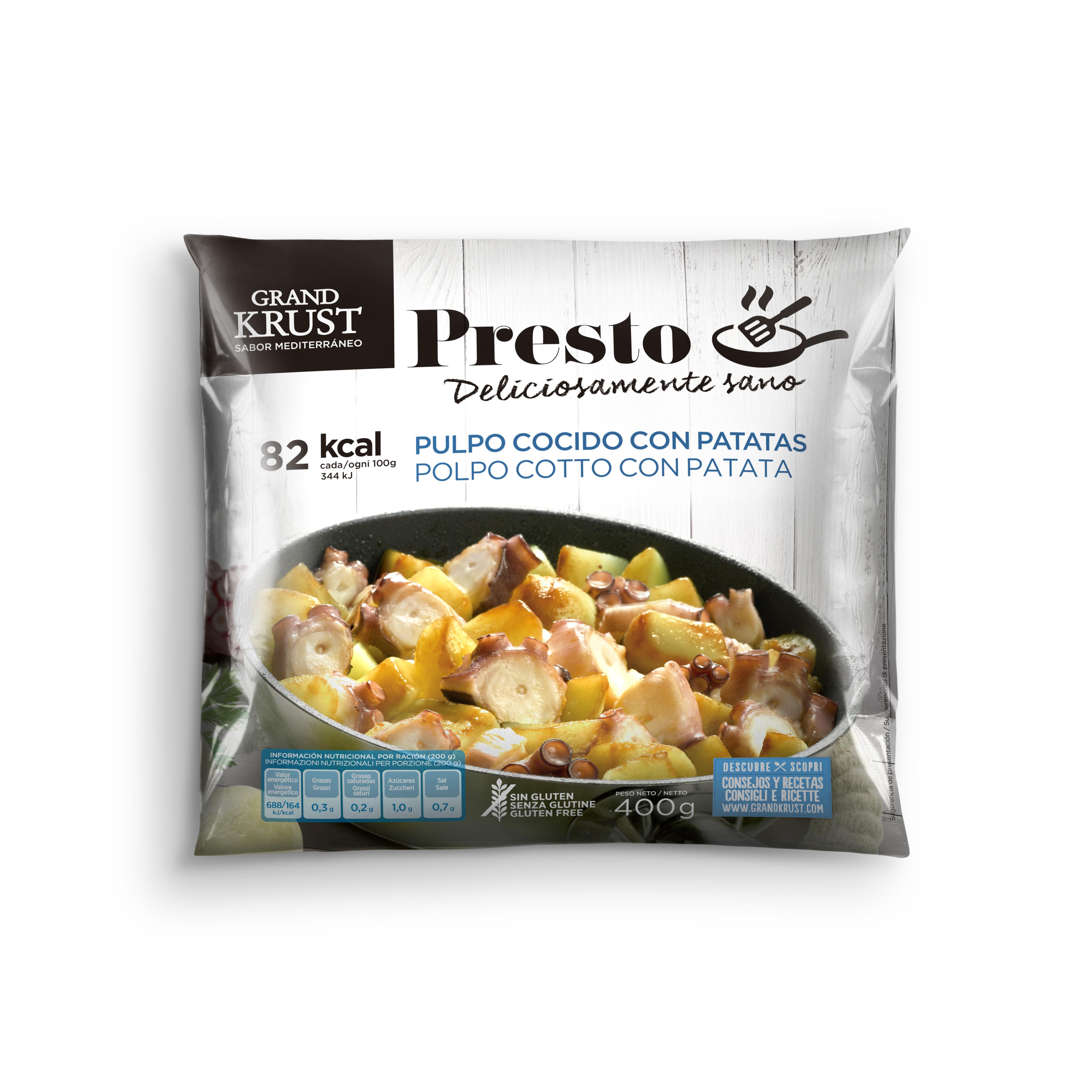 Grand Krust Presto pulpo con patatas Image