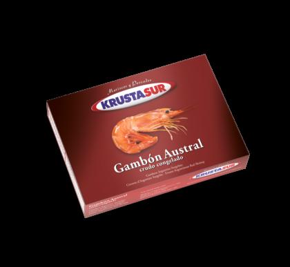 Krustasur land frozen red shrimp