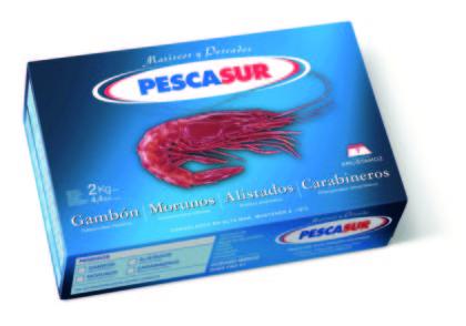 Krustasur scarlet shrimp (carabinero)