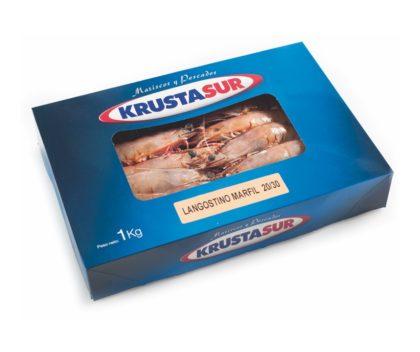 Langostino marfil entero crudo 1kg